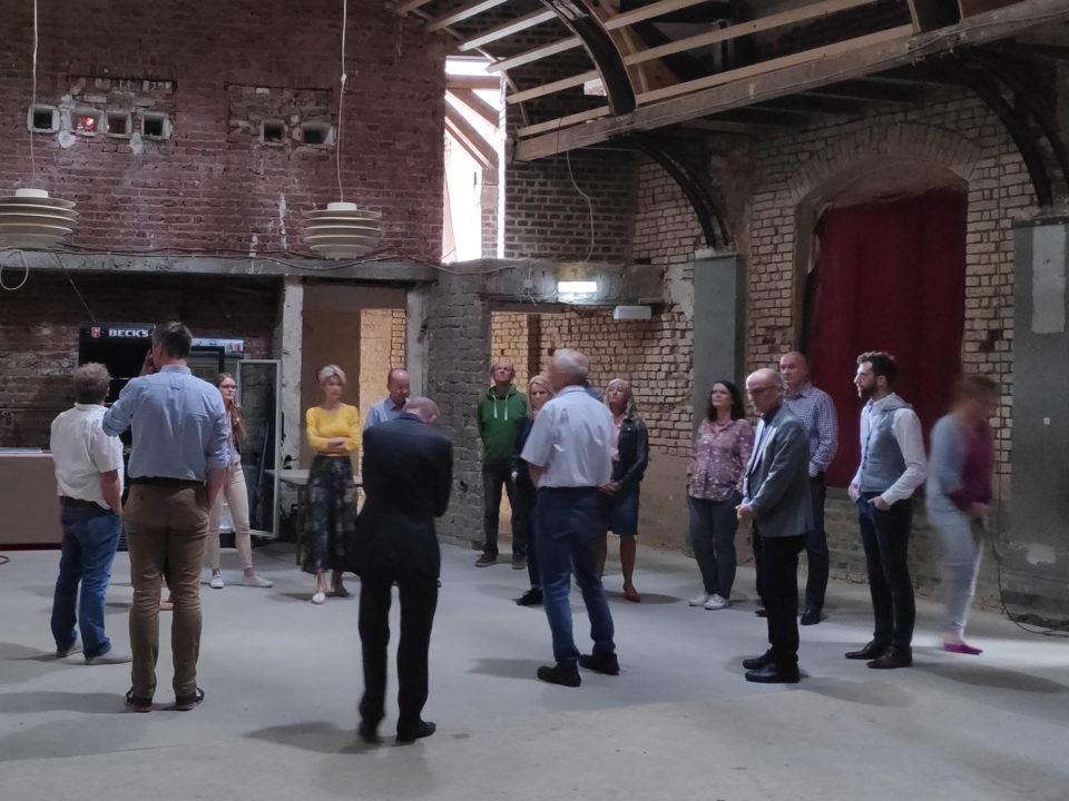 """Beirat """"Initiative ergreifen"""" 9. Juli 2019 in den Räumen des Projekts Königsburg"""
