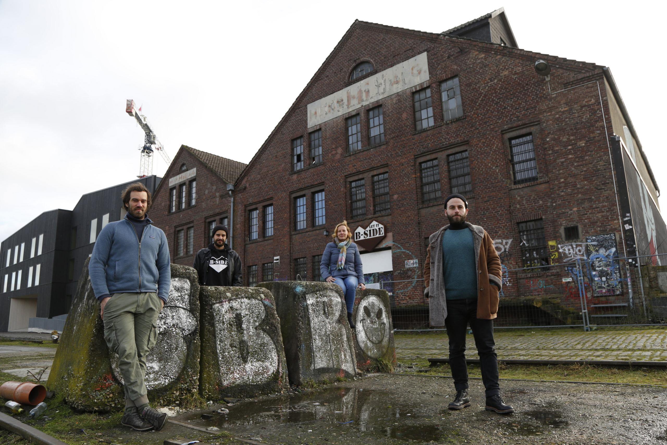 Das laut pochende Herz des Hansaviertels - Projektportrait der B-Side, Münster
